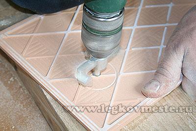 Как сделать отверстие в кафельной плитки